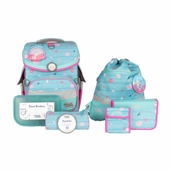 School-Mood Timeless Air+ Schulranzen-Set 7tlg. lilly