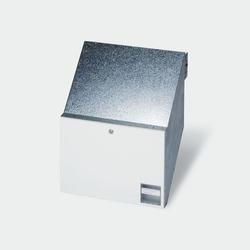 Siedle BKV 611-4/3-0 W Durchwurfbriefkasten für Mauereinbau (200034135-00)