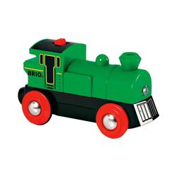 BRIO® Spielzeug-Eisenbahn Speedy Green (Batteriebetrieb)