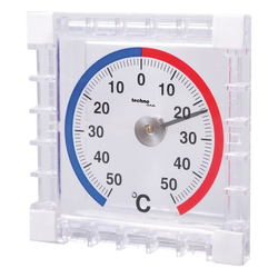 technoline WA 1010 - ThermoMeter, das FensterthermoMeter mit Wetterstation