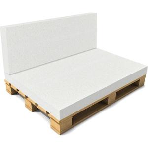 neu.haus® Schaumstoff 120x80cm Matratze Palettenauflage Palettenkissen Polster
