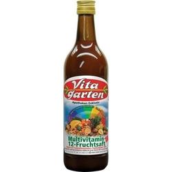 VITAGARTEN Multivitamin Saft 12+10+1 750 ml