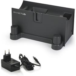 Genius INVICTUS X7 Ladestation schwarz Zubehör für Staubsauger Haushaltsgeräte Ladegerät