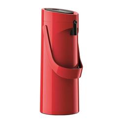 Emsa Isolierkanne Ponza Pumpkanne Edelstahl Rot 1.9 L, 1,9 l