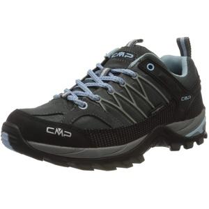 CMP – F.lli Campagnolo Damen Rigel Low Wmn Shoe Wp Trekking- & Wanderhalbschuhe, Grau (GRAFFITE-Azzurro 77BD), 37 EU