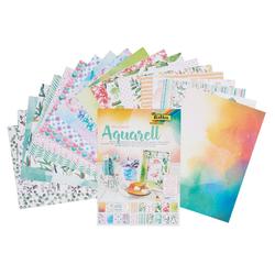 Folia Motivpapier Aquarell, 20 Blatt