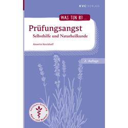 Prüfungsangst als Buch von Annette Kerckhoff
