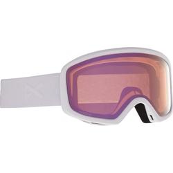 ANON DERINGER Schneebrille 2021 white/perceive cloudy pink