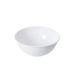 Riess Salatschüssel Salatschüssel WEISS, Emaille, (1-tlg) Ø 30 cm x 13.5 cm