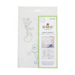 DMC Kreativset DMC Magic Paper Wasserlösliche Stickunterlage mit
