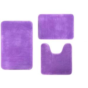 Fulltime Absorbierende Teppichmatte für Badezimmer Coral Velvet memory Baumwollmatte rutschfester Teppich 3 Teile/Satz