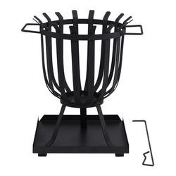TEPRO, Feuerkorb, Höhe: 45 cm, schwarz schwarz