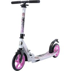 Star-Scooter Cityroller, Abgesenktes Trittbrett weiß