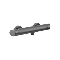Deante Duscharmatur ARNIKA-30 Design Duscharmatur titanium mit Zweigriff, B/H/T: 31,4/5,5/9,1 cm