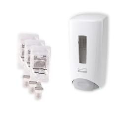 SDS Starter Kit Dispensador Flex 1300 ml + 3 recargas espuma desinfectante
