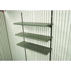 Lifetime 3-Fach-Regal für Lifetime Gerätehäuser,anthrazit,76 x 25 cm