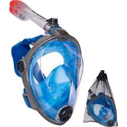 SALVAS Full Face Schnorchel Maske Taucher Brille Voll Gesichts Tauch Maske Größe: S/M
