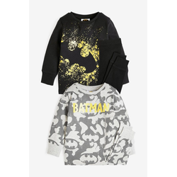 Next Pyjama Batman® Kuschel-Pyjama im2er-Pack (4 tlg) Snugglefit 86-92