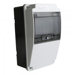 Stromverteiler IP66 6Module Verteilerkasten Sicherungskasten Aufputz TpE 8018