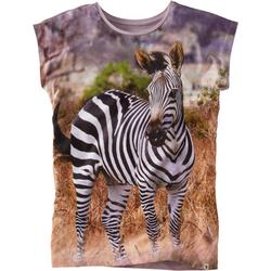 T-Shirt Fotodruck, grau, Gr. 176/182 - 176/182 - grau