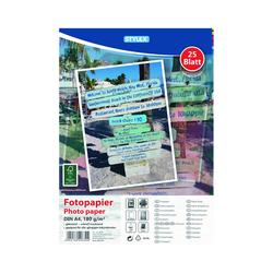 25 Blatt Fotopapier DIN-A4, 180g pro m², glänzend