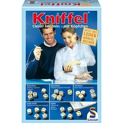Schmidt Spiele Kniffel mit Lederwürfelbecher Kniffel mit Lederwürfelbecher 49030