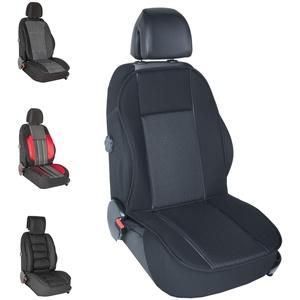 DBS - Autositzauflage - PKW/Auto - Schwarz - Großer Komfort - rutschfest - Kompatibel mit Airbag - Universal