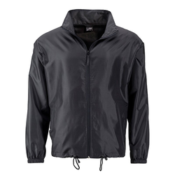 Herren Windbreaker | James & Nicholson black L
