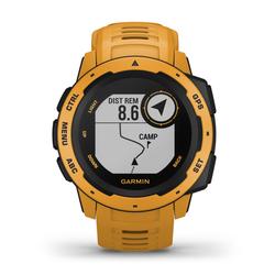 Garmin Instinct - Outdoor-Smartwatch Dark Yellow