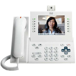 Cisco CP-9971-WL-CAM-K9= IP-Videotelefon Farbdisplay Arktik Weiß