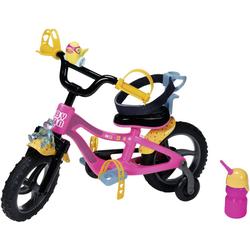 Baby Born Puppen Fahrzeug Fahrrad rosa