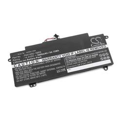 vhbw Li-Ion Akku 3800mAh (14.4V) schwarz für Laptop, Notebook Toshiba Tecra Z50-A-004, Z50-A-005, Z50-A-02S, Z50-A-05Y Bundle, Z50-A-07Q Bundle