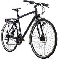 KS-CYCLING KS Cycling Trekkingrad Herren 28'' Norfolk schwarz Aluminiumrahmen RH 53 cm
