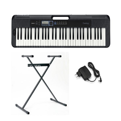 CASIO Keyboard Casiotone CT-S300, (Set, 2 tlg), inkl. Keyboardstativ