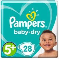 Pampers Baby-Dry 13-25 kg 28 Stück