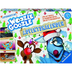 Ravensburger Woozle Goozle Adventskalender Rätsel, Experimente