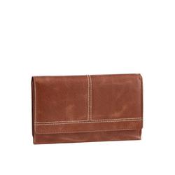 H.I.S Geldbörse, aus Leder, mit praktischer Einteilung