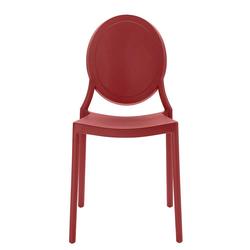 Stühle in Rot Kunststoff (2er Set)