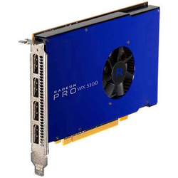 AMD Workstation-Grafikkarte Radeon Pro WX 5100 8GB GDDR5-RAM PCIe x16 DisplayPort