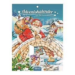 Adventskalender mit 24 Ausmalbildern - Kalender
