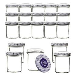 BigDean Einmachglas Set 350 ml für Pasteurisierung − Made in Germany − Marmeladengläser mit Schraub−Deckel, Glas, (20-tlg)