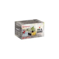 SPIEGELAU Gläser-Set BBQ & Drinks Softdrink Glas 6er-Set (6-tlg), Glas