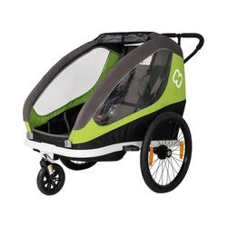 Hamax Fahrradkindersitz grün