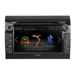 Zenec Audio-System (Zenec Z-E3756, 2-DIN Autoradio mit Navi Fahrzeugspezifischer Naviceiver für FIAT DUCATO)