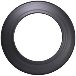 Firefix Rosette, Ø 130 mm, 1-St., starr, für Rauchrohranschlüsse