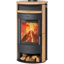 Fireplace Kaminofen Prag, 6 kW, Zeitbrand