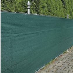 Zaunblende Sichtschutz Zaun Winddurchlässig grün
