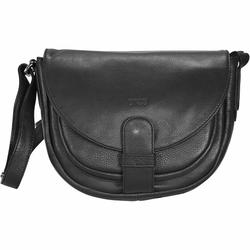 Bree Lady Top 2 Umhängetasche Leder 28 cm black