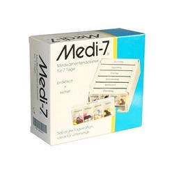 MEDI 7 Medikamenten Dosierer für 7 Tage weiß