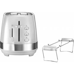 4 Stück DeLonghi Toaster CTLA 2103.W ws